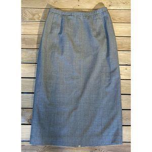 Vintage Pendleton wool midi skirt 14